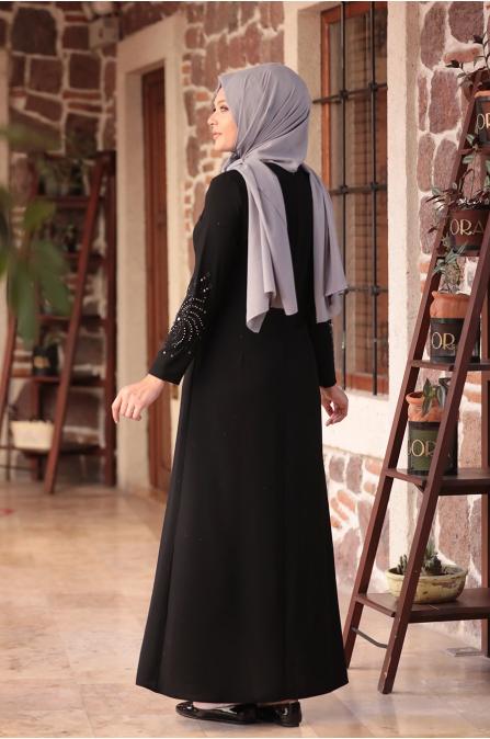 Sema Elbise - Siyah - Amine Hüma