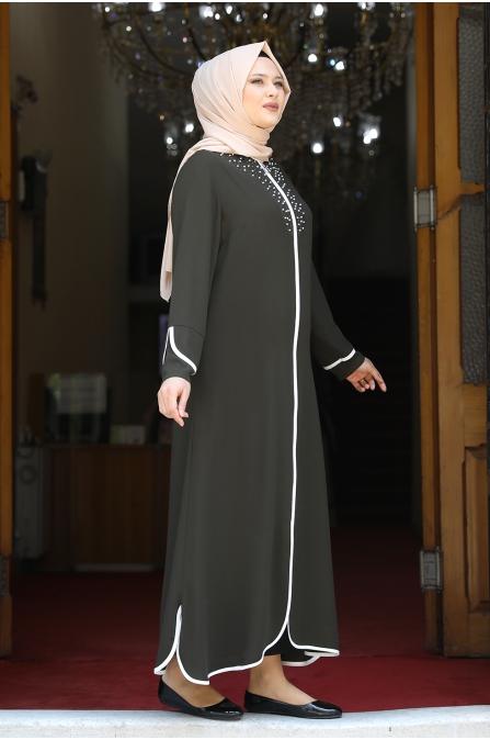 Osmanlı İncili Ferace - Haki