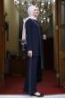 Sim Şerit Tunik Pantolon Takım - Lacivert