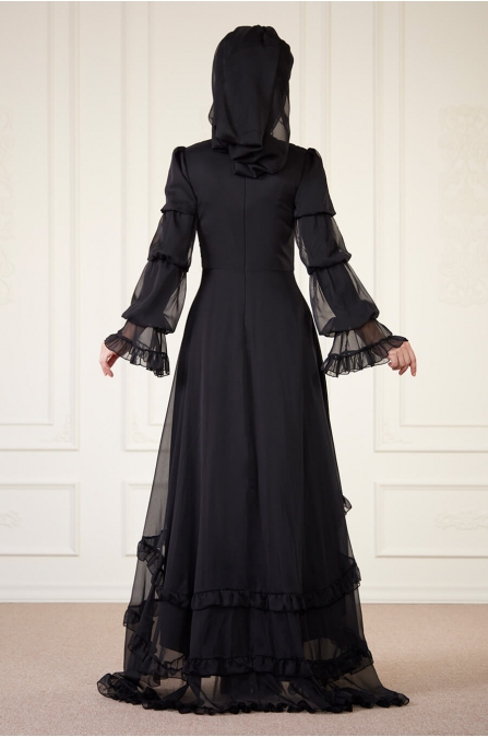 Açelya Abiye - Siyah - An nahar