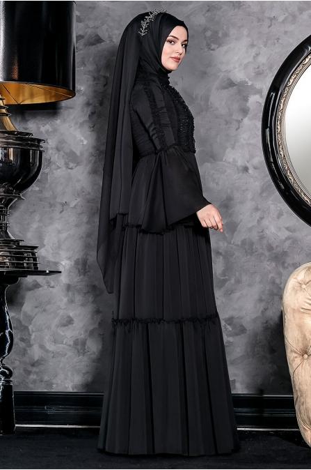 Hadra Abiye - Siyah - Annahar