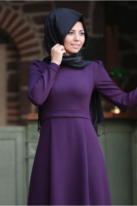 Başak Elbise Mor - An Nahar