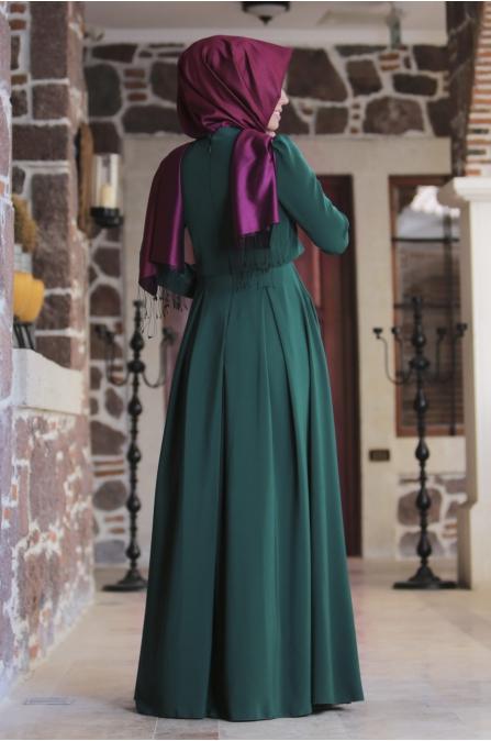 An Nahar - Gülce Elbise - Zümrüt