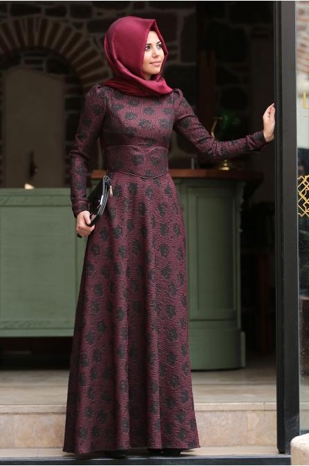 Azra Elbise - Bordo - An Nahar