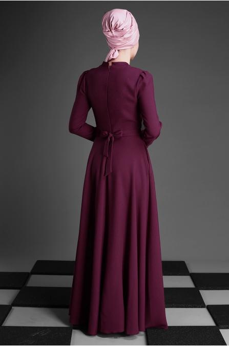 An Nahar - Belinay Elbise - Fuşya