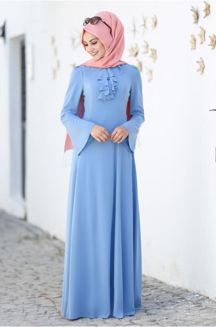 An Nahar - Ezgi Elbise - Mavi
