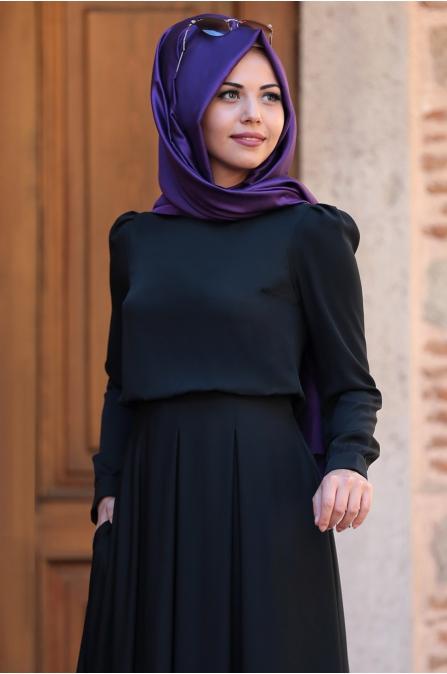 An Nahar - Gülce Elbise - Siyah