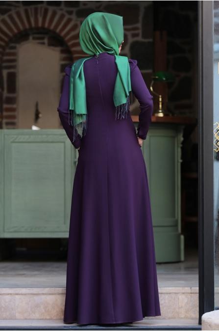 Hafsa Elbise  - Mor - An Nahar