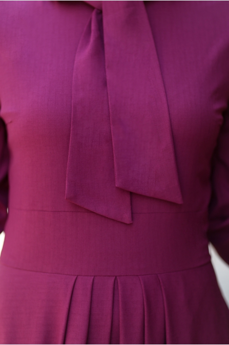 An Nahar - Nihan Elbise - Fuşya