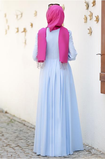 An Nahar - Nihan Elbise - Mavi