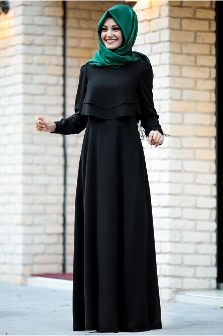 An Nahar - Sude Elbise - Siyah