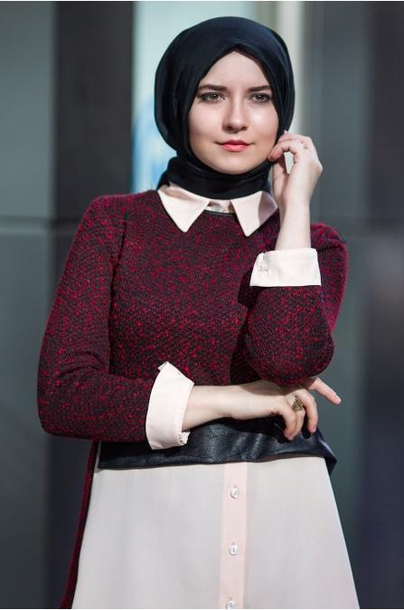 Ayça Gömlek - Bordo - An Nahar