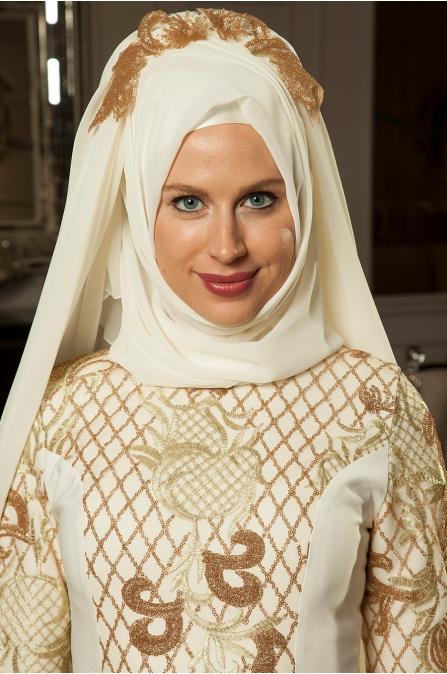 Azra Özer - Fatima Abiye - Ekru