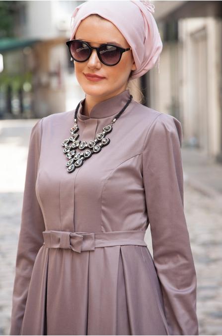 Azra Özer - Vera Elbise - Toprak