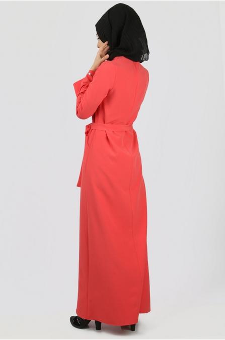 Azra Özer - Layla Elbise - Oranj