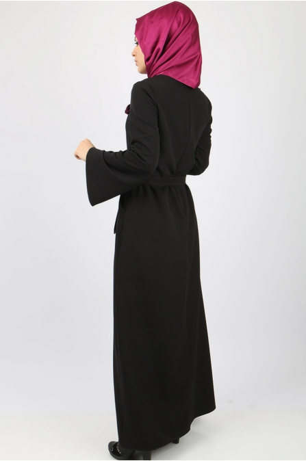 Azra Özer - Layla Elbise - Siyah