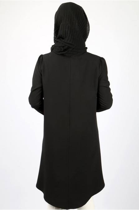 Azra Özer - Mina Gömlek - Siyah