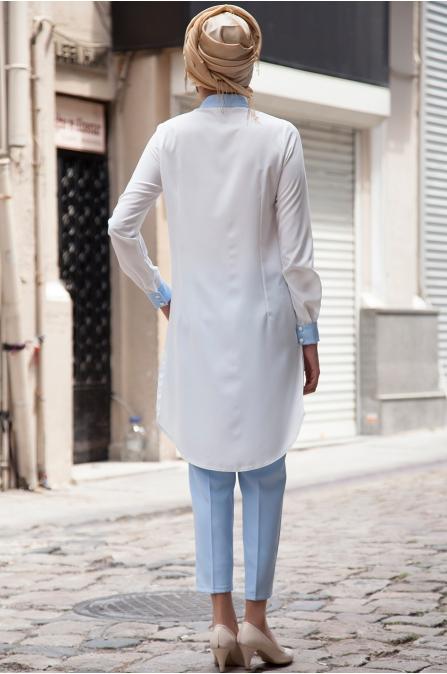 Azra Özer - Rana Gömlek - Beyaz