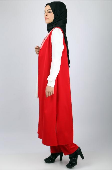 Azra Özer - Sidelya Takım - Kırmızı