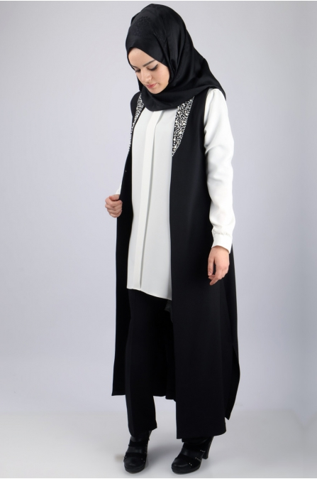 Sidelya Takım - Siyah