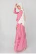 Fiyonklu Elbise - Pudra