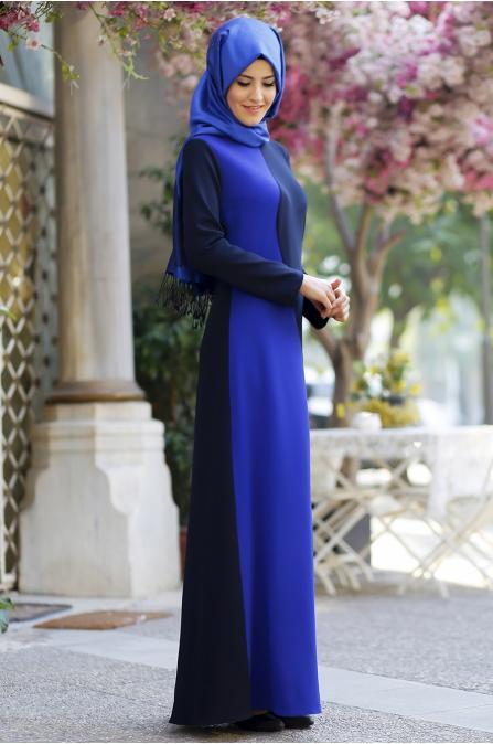 Cemile Nur - Tuba Saks Siyah Elbise