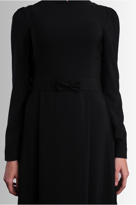 Aysine Elbise - Siyah - Delkash