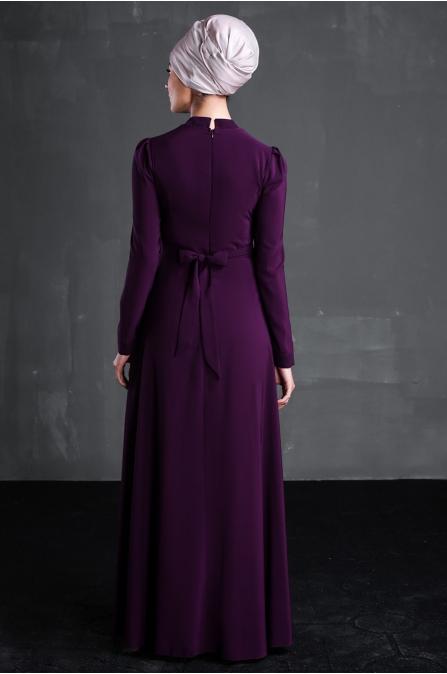 Behin Elbise - Mor - Delkash