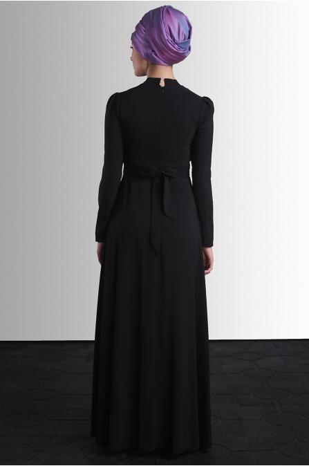 Behin Elbise - Siyah - Delkash