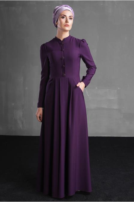 Berre Elbise - Mor - Delkash