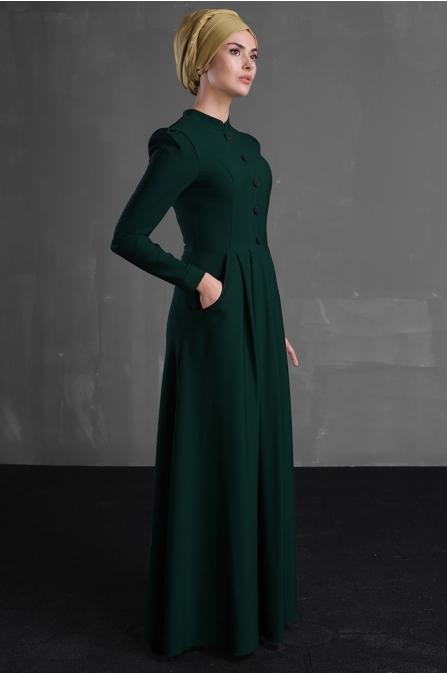 Berre Elbise - Zümrüt - Delkash