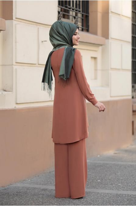 Sena Takım - Kiremit - Dress Life