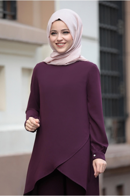 Sena Takım - Mor - Dress Life