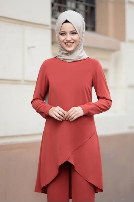 Sena Takım - Turuncu - Dress Life