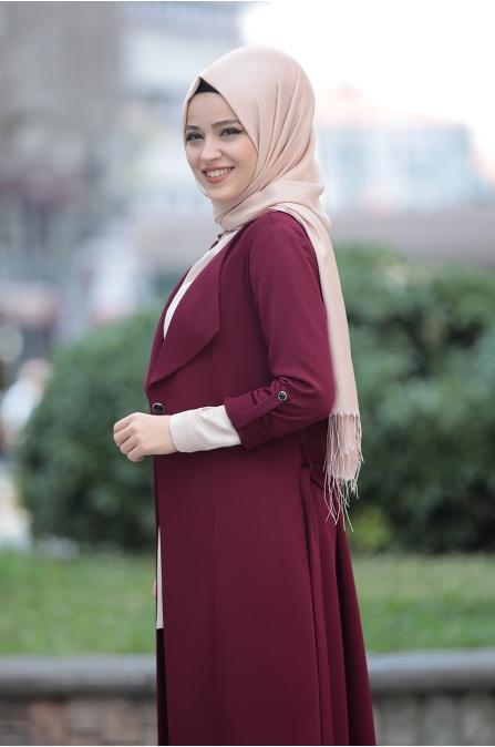 Süreyya Takım - Bordo - Dress Life