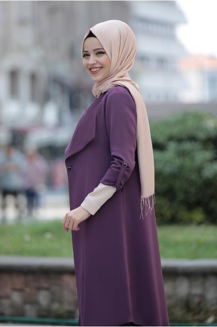 Süreyya Takım - Mor - Dress Life