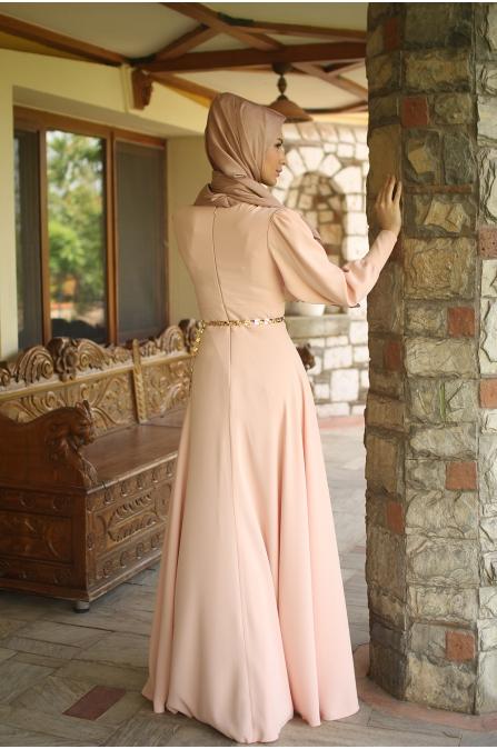 Somon Krep Elbise