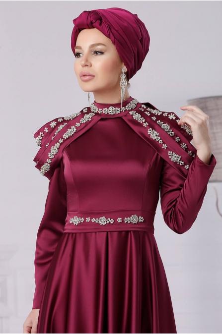 Afife Abiye - Fuşya - Fahrunnisa