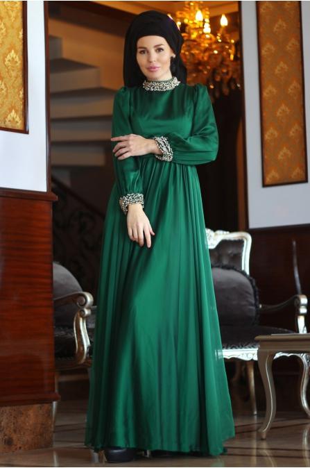 Sahra Abiye - Zümrüt Yeşili - Fahrunnisa