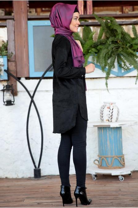 Fahrunnisa - Beril Tunik - Siyah