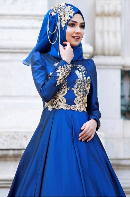 Feriha Sarıoğlu - Aynişah Abiye - Lacivert