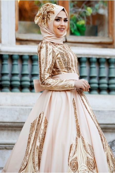 Feriha Sarıoğlu - Aysima  Abiye - Gold