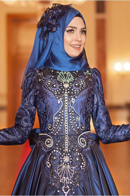 Feriha Sarıoğlu - Gizem  Abiye - Lacivert