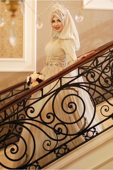 Feriha Sarıoğlu - Gökçe Abiye - Gold