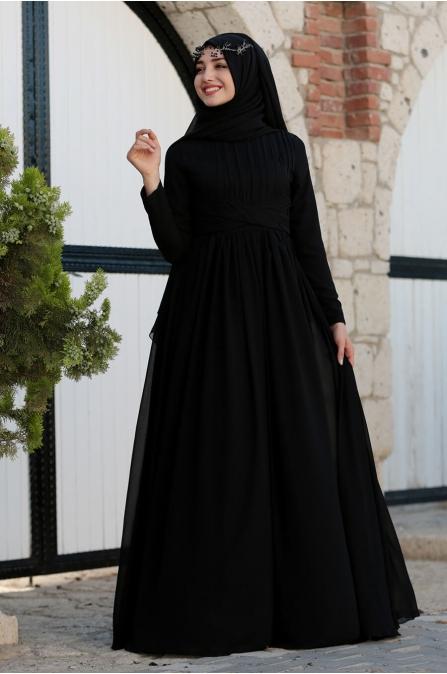 Henna Abiye - Siyah - Gamze Özkul