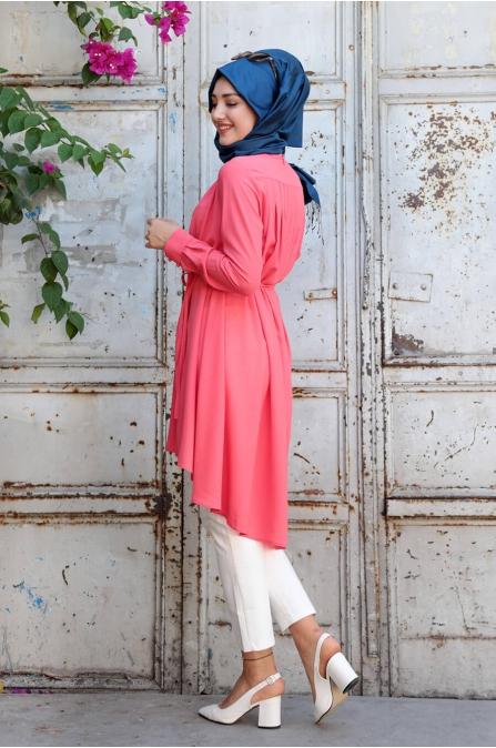 Arya Tunik - Nar Çiçeği - Gamze Özkul