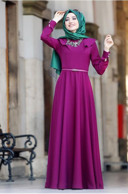Miray Elbise - Fuşya - Gamze Polat