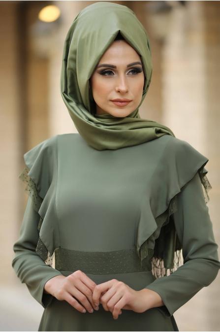Rüya Elbise Haki - Gizem Kış