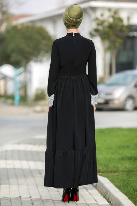 Gizem Kış - Eslem Elbise - Siyah