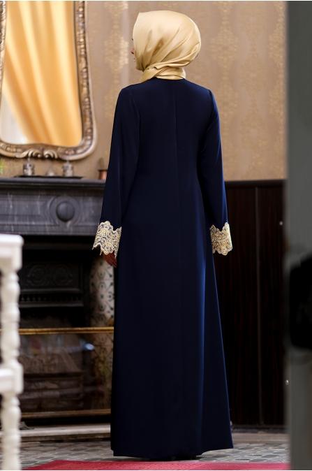 Hazem - Seren Elbise - Lacivert